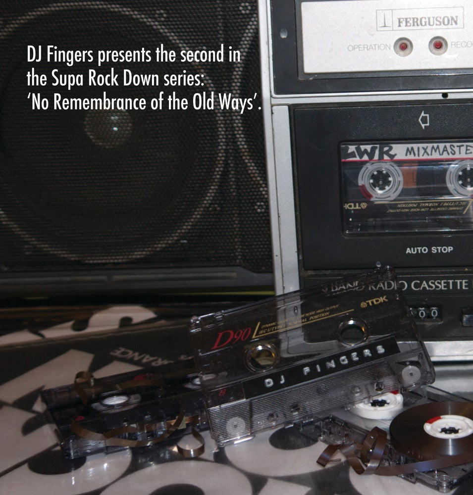 Image of ' NO REMEMBRANCE OF THE OLD WAYS ' CASSETTE / CD PACK