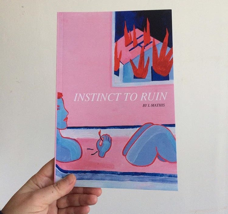 Image of Instinct to Ruin (poetry book)