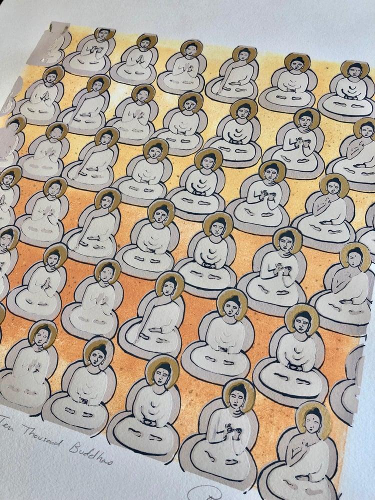Image of Sunrise Buddhas I