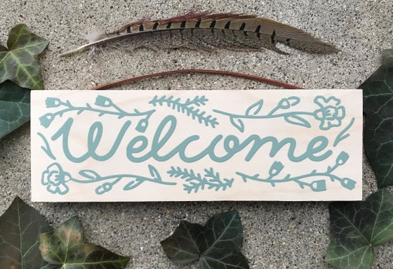 Image of Welcome Sign