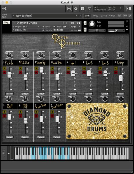 Image of Diamond Drums