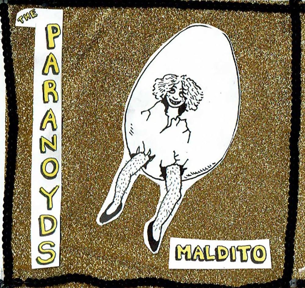 "Image of THE PARANOYDS - MALDITO (7"")"
