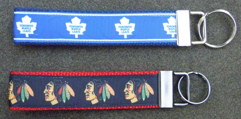 Image of Hockey and Soccer Team KeyChain FOBs