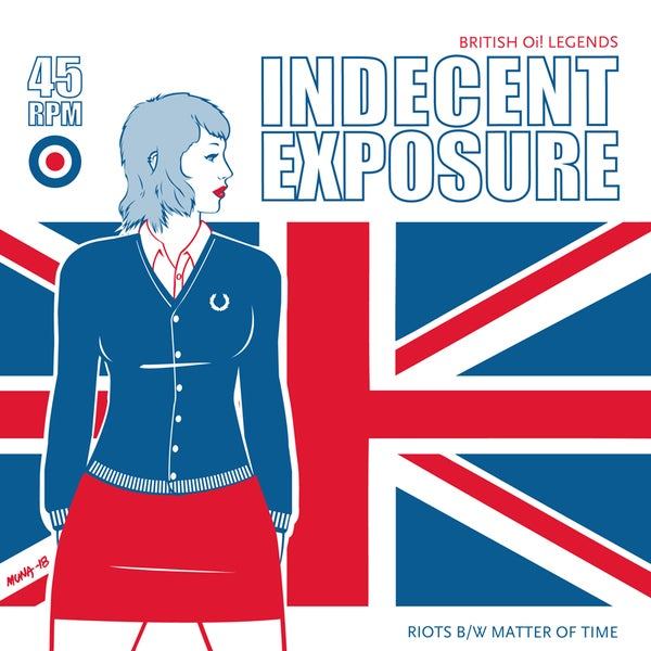 Image of Indecent Exposure Union Jack Deluxe Edition [LTD 50] SHIP 3/28/18