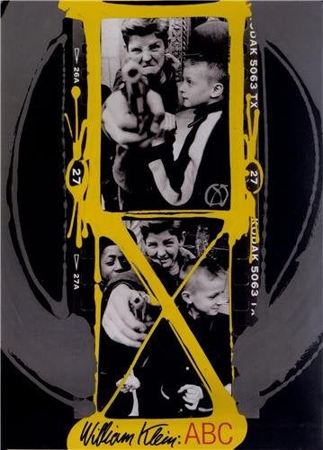 Image of WILLIAM KLEIN ABC (Anglais) Relié –