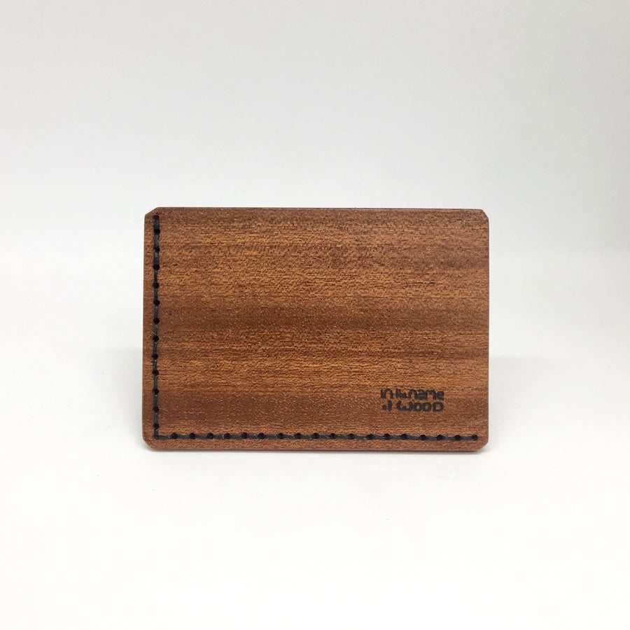Image of Bussines Cards Holder Sapelli