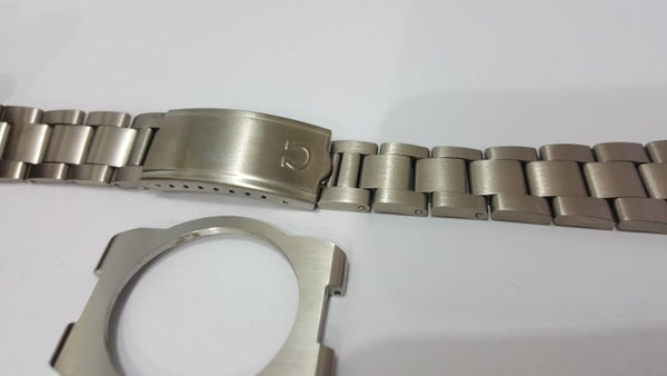 Image of OMEGA DYNAMIC GENTS WATCH STRAP,S/STEEL.NEW.