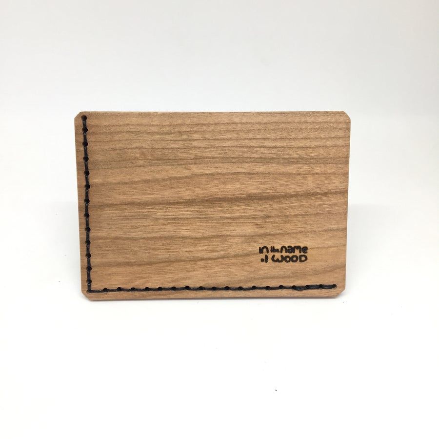 Image of Bussines Cards Holder Merisier