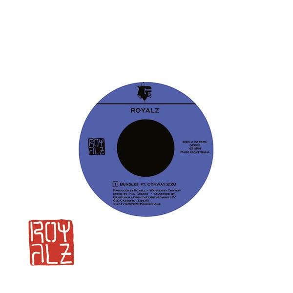"Image of Royalz - Bundles ft. Conway 7"" Vinyl"