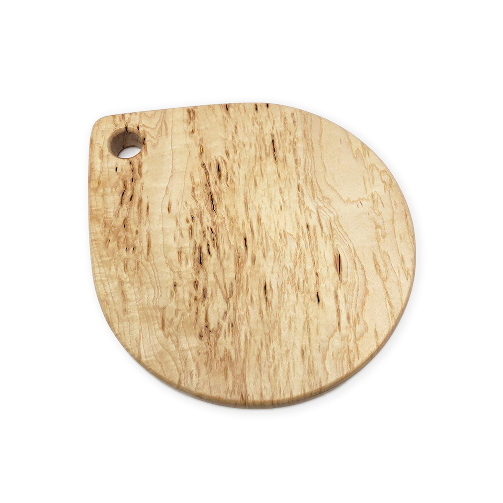"Image of ""Raindrop"" bark pocket maple board"