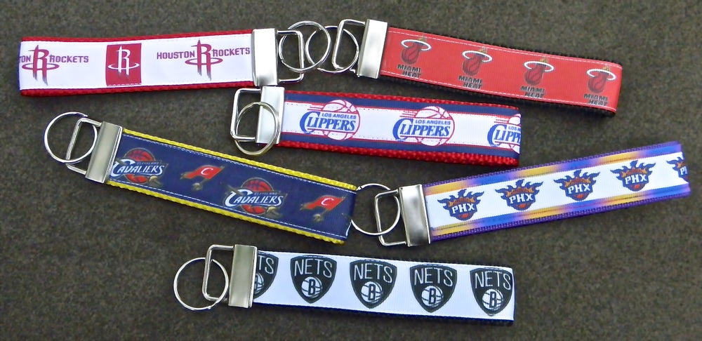 Image of NBA Team KeyChain FOBs