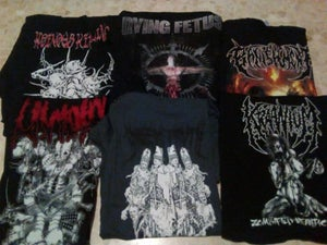 Image of HEINOUS KILLINGS, DYING FETUS, BANISHMENT, LIVIDITY, GODLESS TRUTH, KRAANIUM