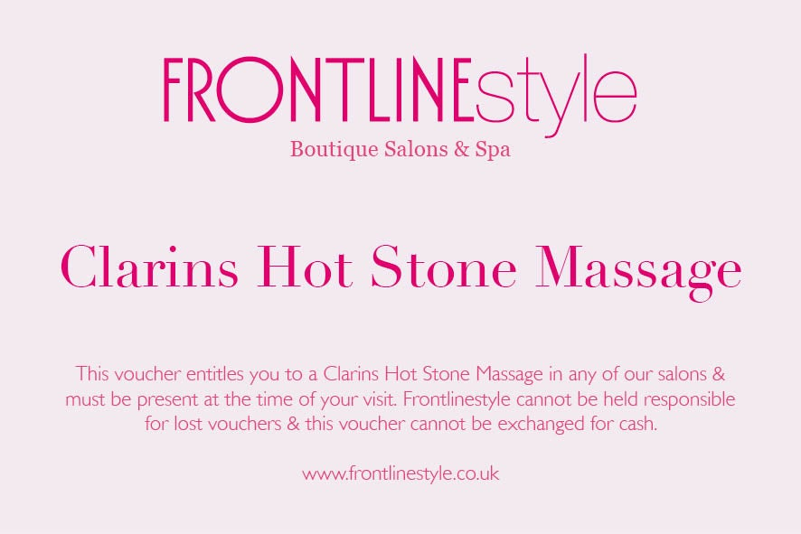 Image of Clarins Hot Stone Massage