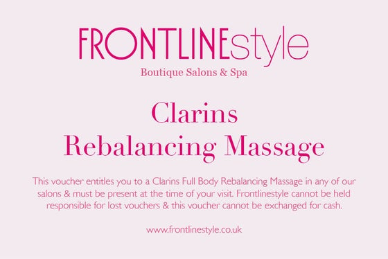 Image of Clarins Rebalancing Massage