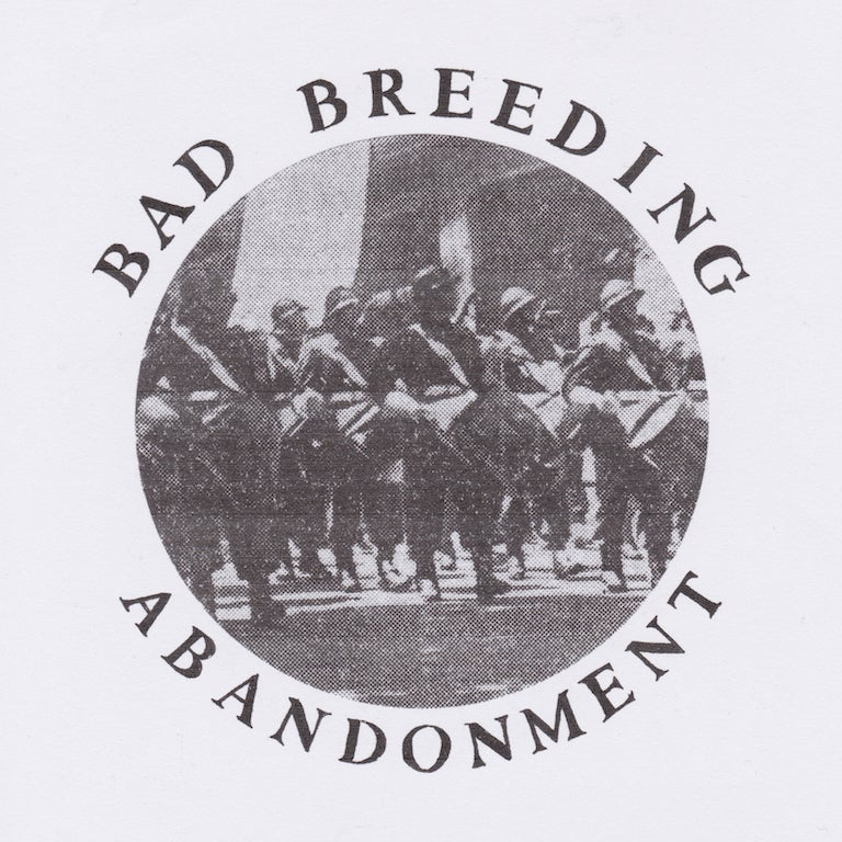 "Image of BAD BREEDING - ABANDONMENT 12"" EP"