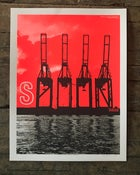 Image of Spoon Philadelphia 2018 poster