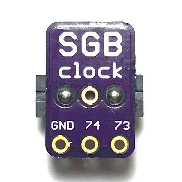 Image of SGB Clock Fix