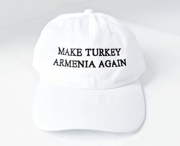 Image of Make Turkey Armenia Again hat - White