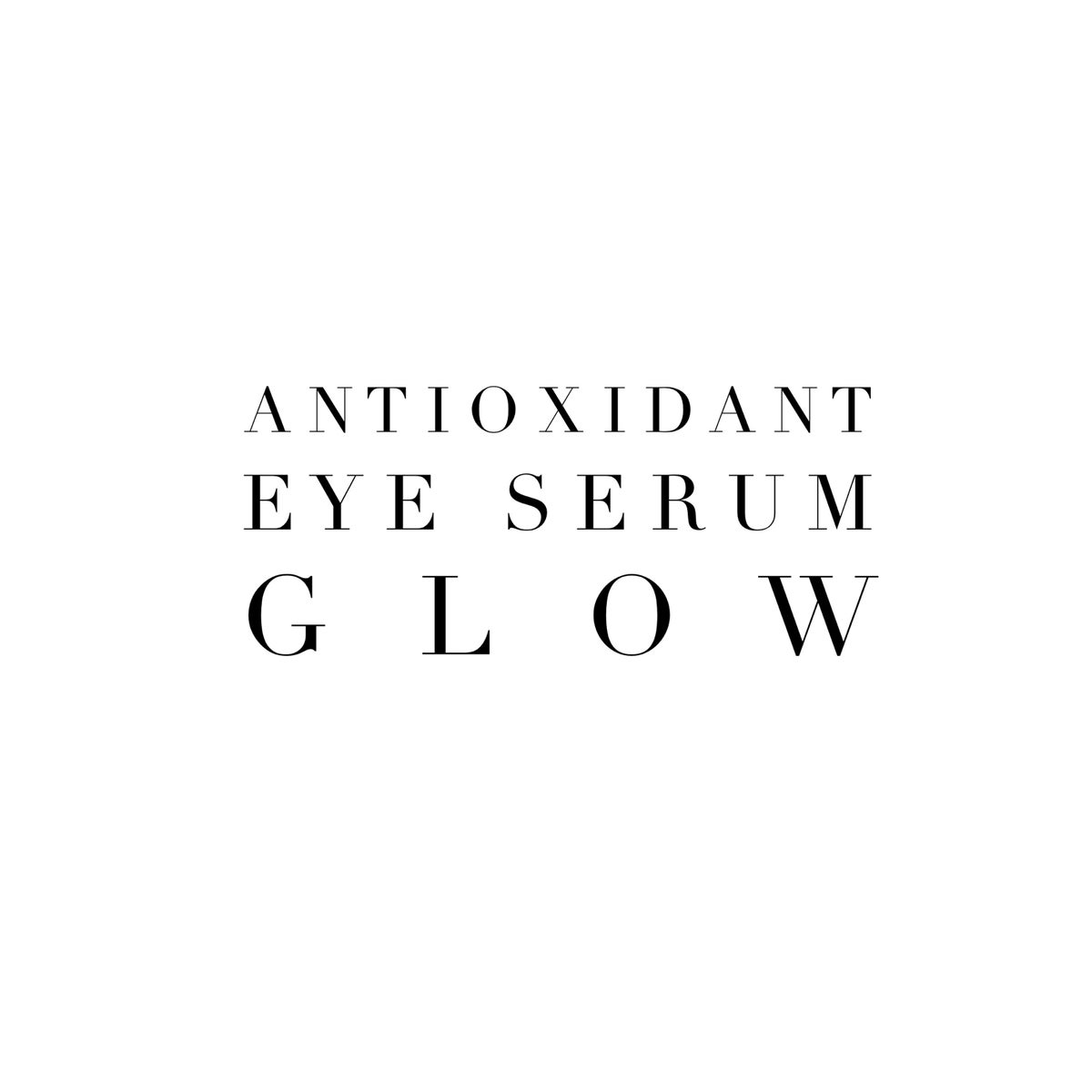 Image of Antioxidant Eye Serums - GLOW [day]