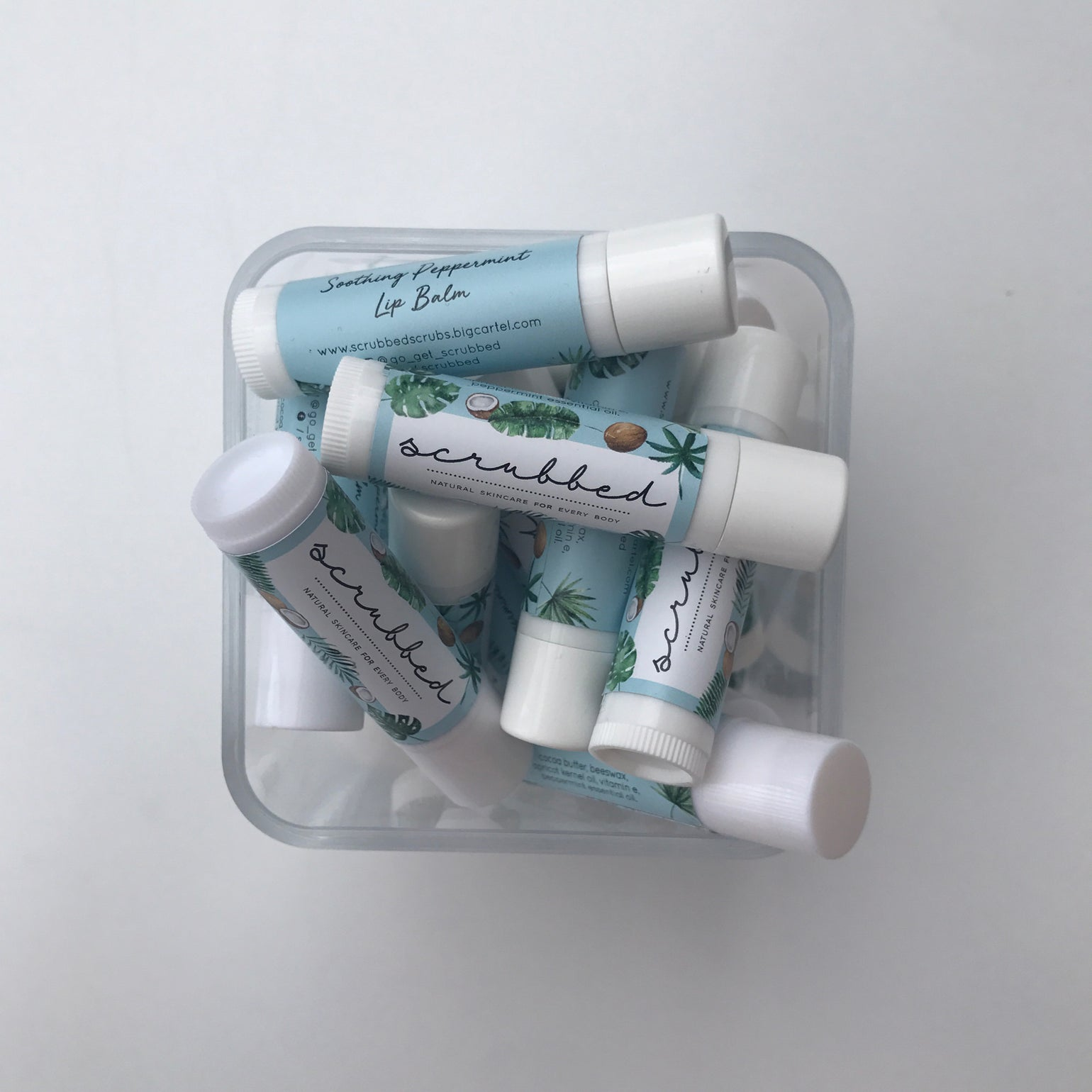 Image of Soothing Peppermint Lip Balm
