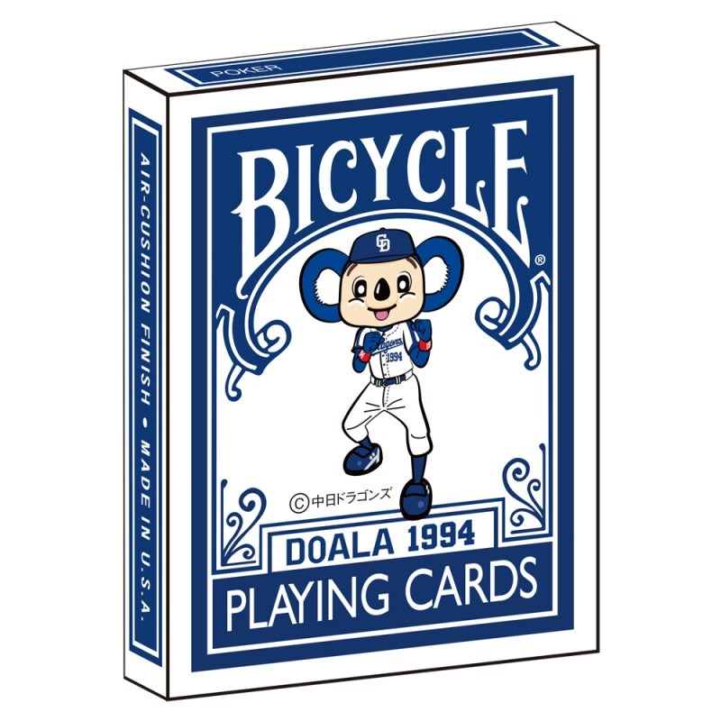"Image of ""DRAGONS - DOALA"" BICYCLE PLAYING CARDS"