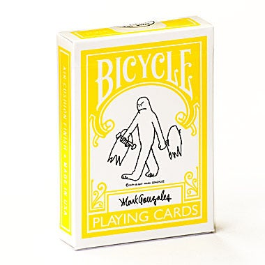"Image of ""MARK GONZALES GONZ"" BICYCLE PLAYING CARDS"