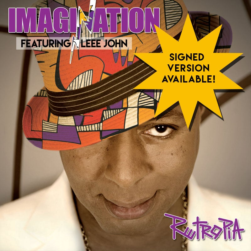 Image of Imagination & Leee John - Retropia Vinyl Album