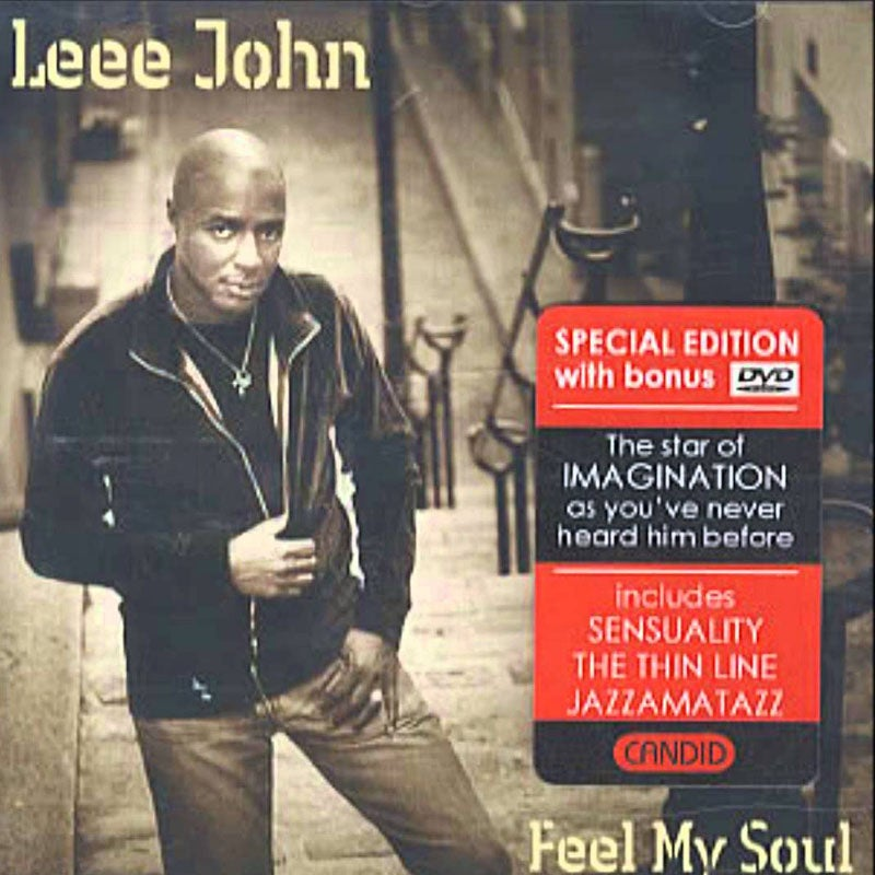 Image of Feel My Soul - Leee John CD DVD Album