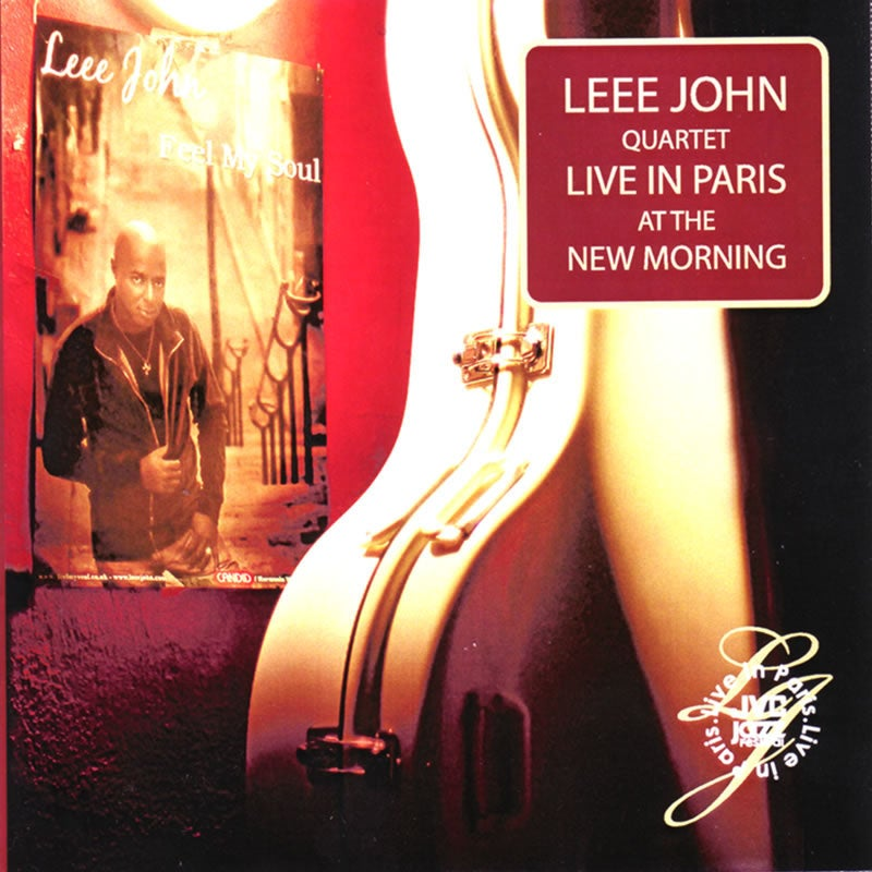 Image of Leee John Quartet Live in Paris Concert CD
