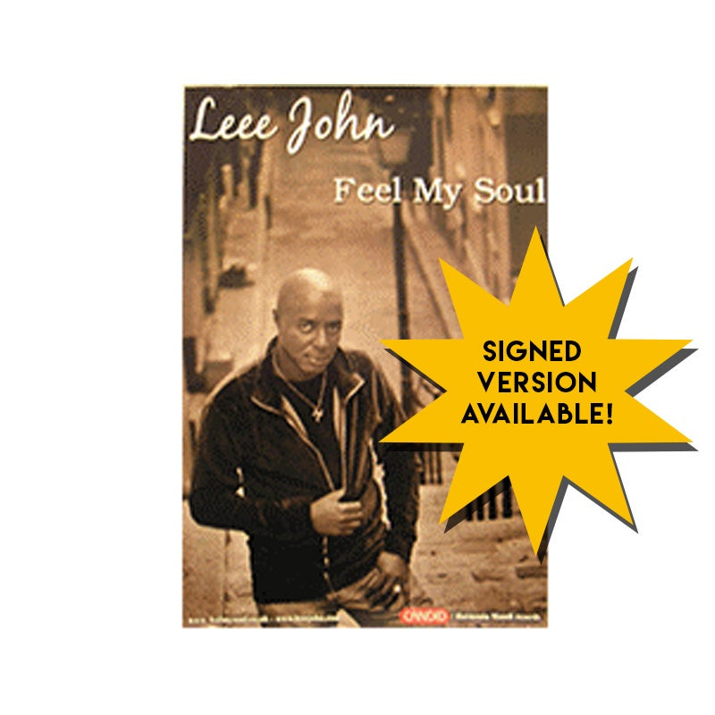 Image of Leee John - Feel My Soul Poster