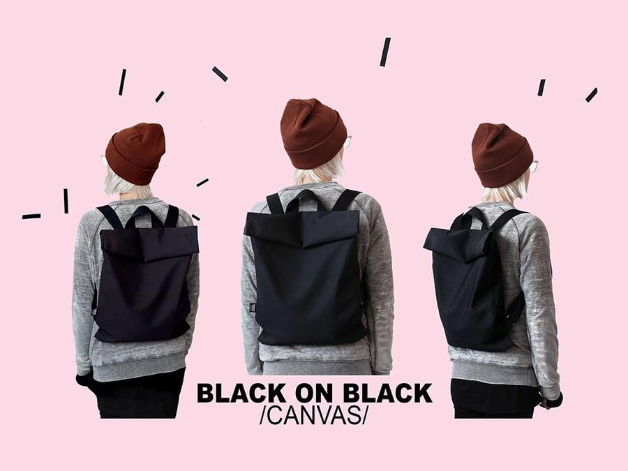 Image of BLACK ON BLACK /canvas