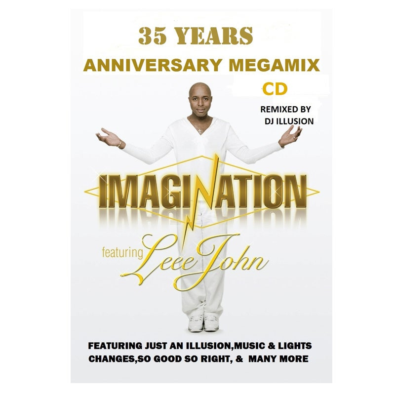 Image of Imagination 35th Anniversary Megamix CD