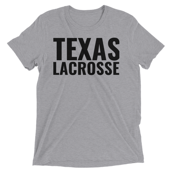 Image of Texas Lacrosse Tri-Blend T-Shirt
