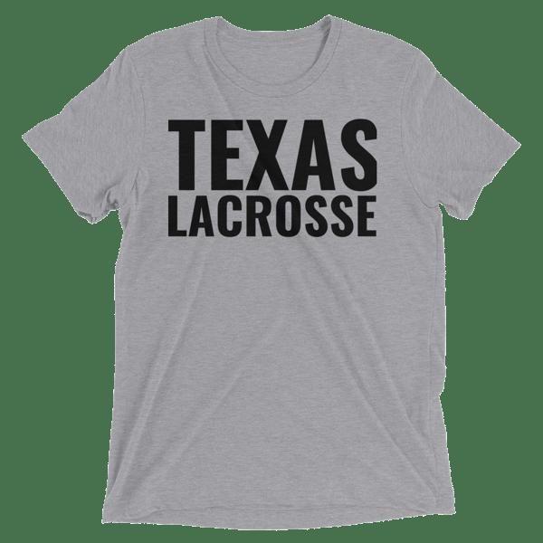 Image of Texas Lacrosse Tri-Blend T-Shirt
