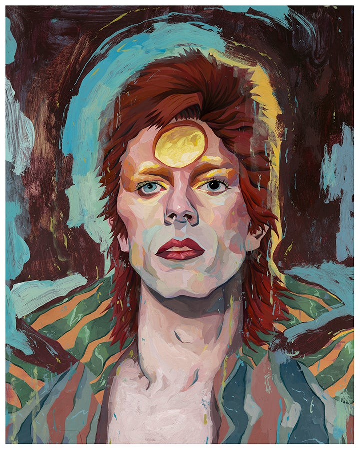 Image of Starman 16x20 Print