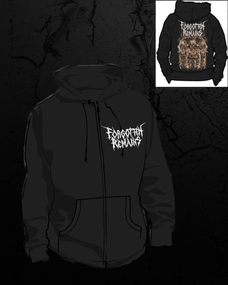 Image of FR Zombie Hoodie (Zipped)
