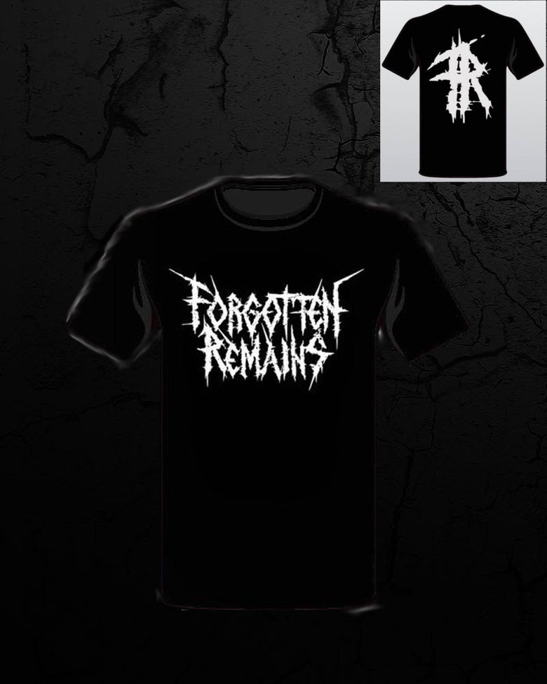 Image of Forgotten Remains - White Logo T Shirt
