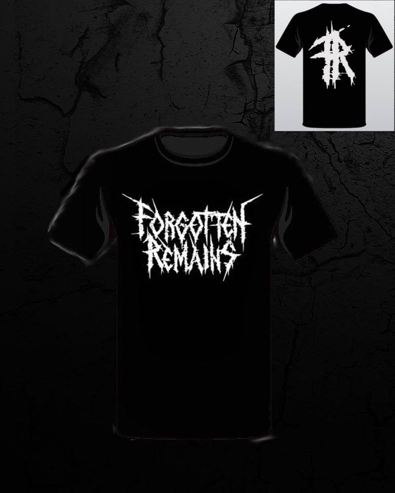 Image of Forgotten Remains - White Logo T Shirt