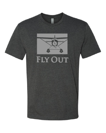 Image of Alaska Fly Out Tee Shirt