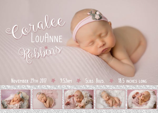 Image of Coralee's Birth Announcements