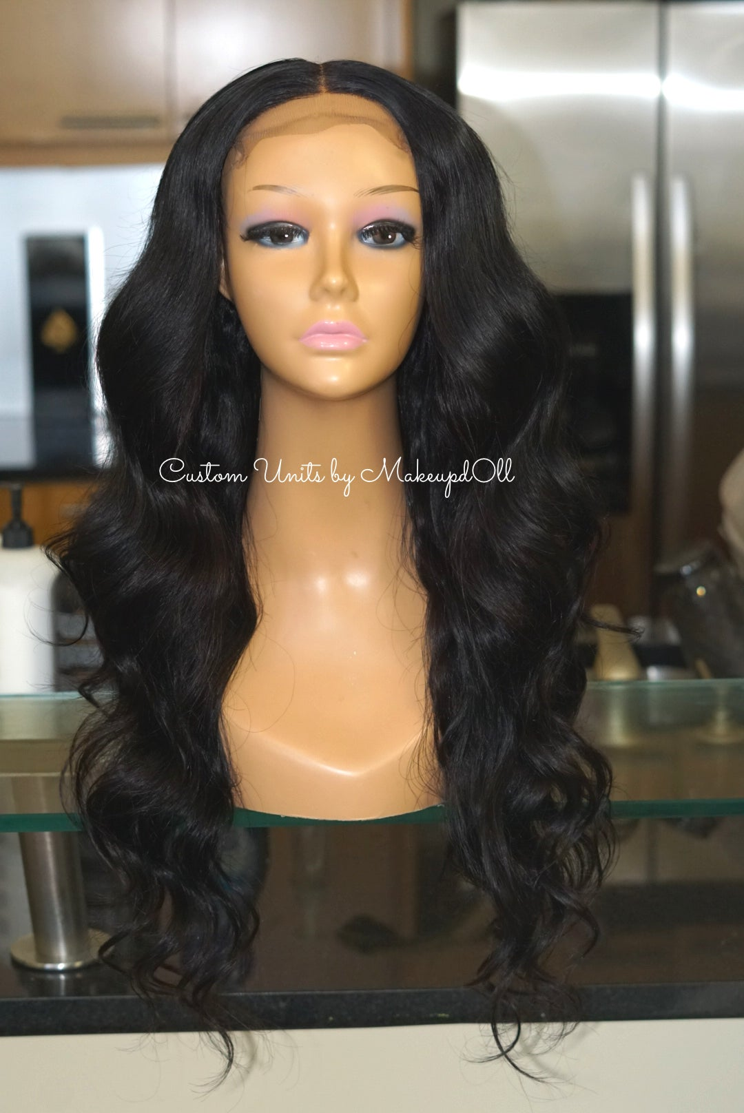 "Image of Brazilian Body Wave 24"" Custom Closure Wig! (Extra Bundle)"