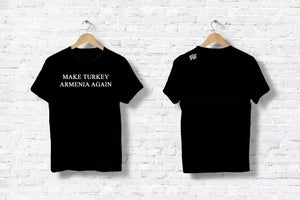 Image of Make Turkey Armenia Again shirt - Black