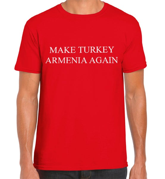 Image of Make Turkey Armenia Again shirt - Red