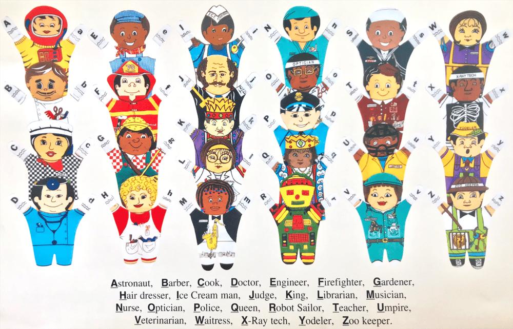 Image of 26 Alphabet People