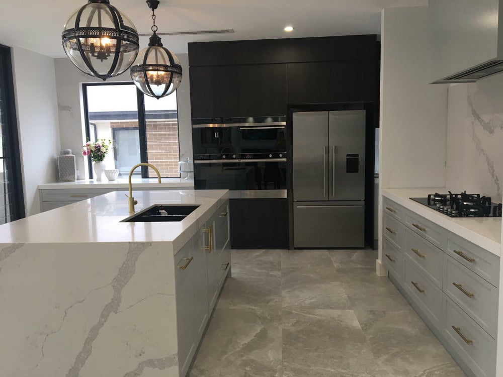 Image of Residential kitchen design three