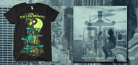 Image of Relive // Regret // Repeat CD + T-Shirt