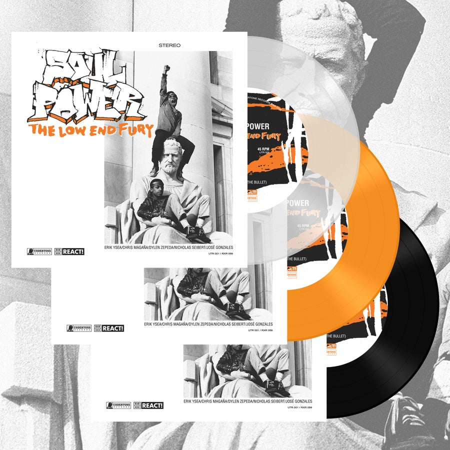 """Image of Soul Power  """"The Low End Fury"""" 7"""""""