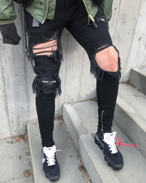 Image of Black SLP Denim