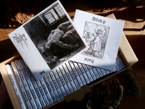Image of AFSKY- sorg CD