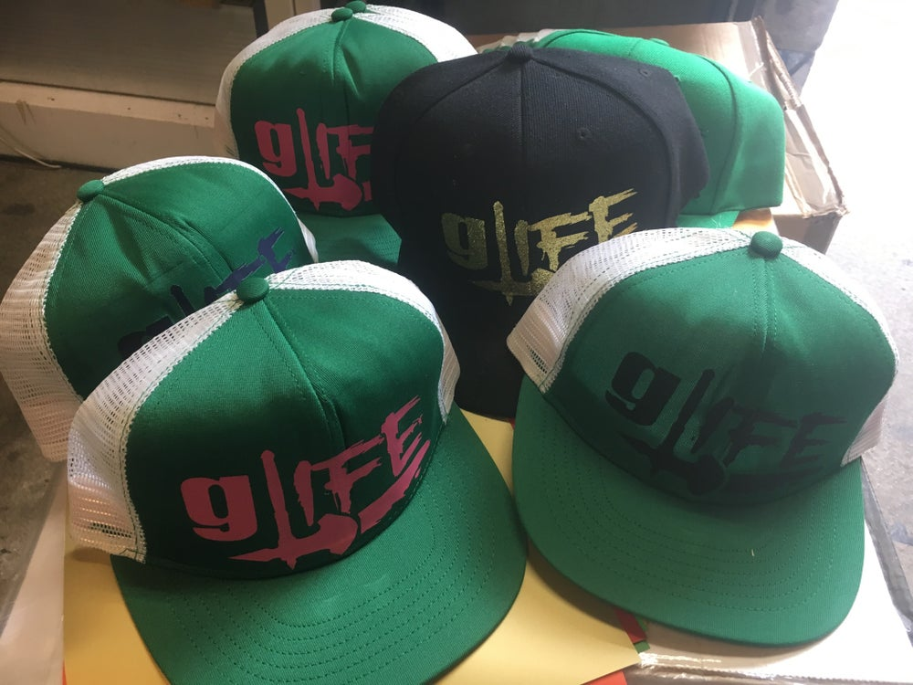 Image of GLife snap back hats